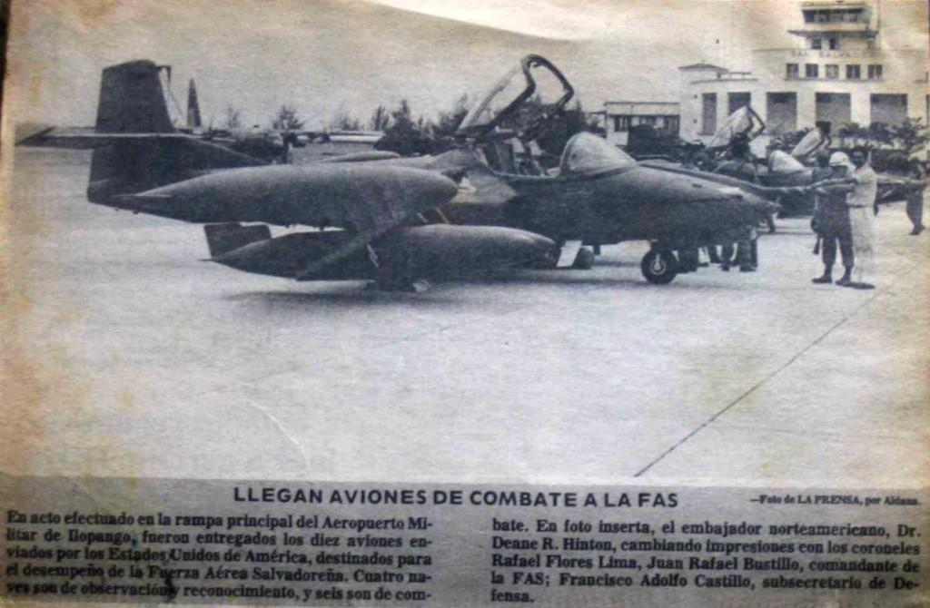 Entrega Ilopango 1982